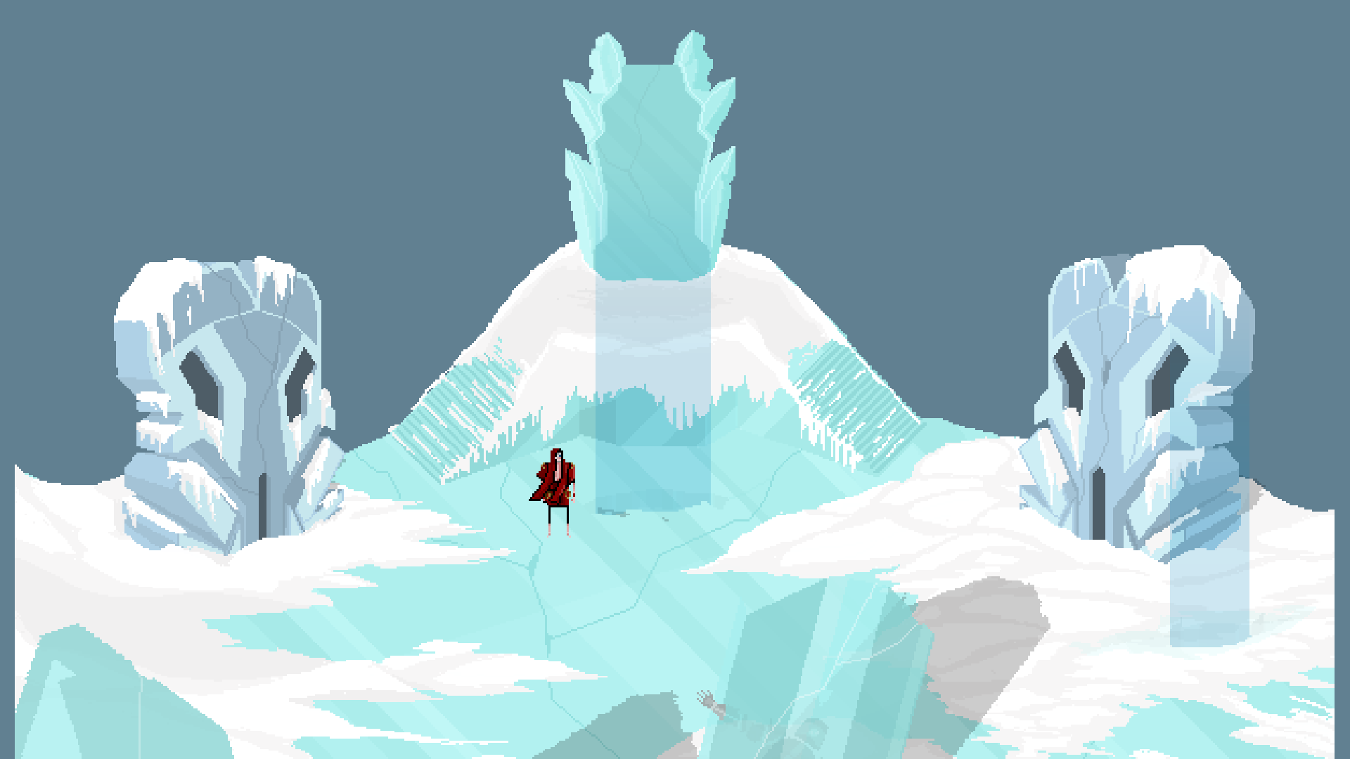Therefore - Scenery: The Snowy Tundra (Work in Progress)