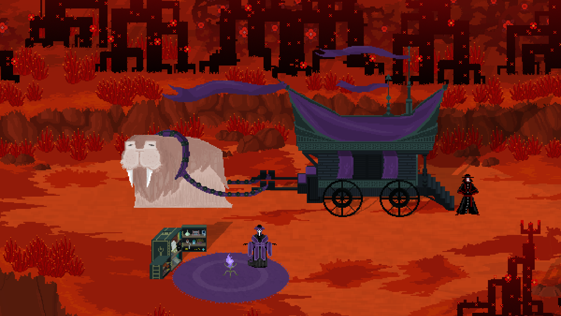 Therefore - Scenery: The Peddler's wagon (Work in Progress)