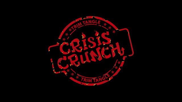 Crisis Crunch black logo