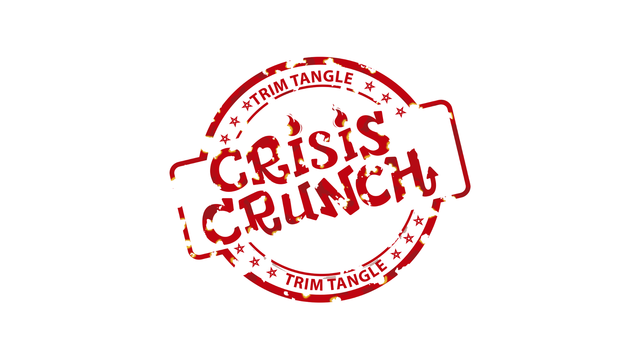 Crisis Crunch white logo