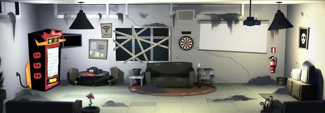 Dirty staff room version