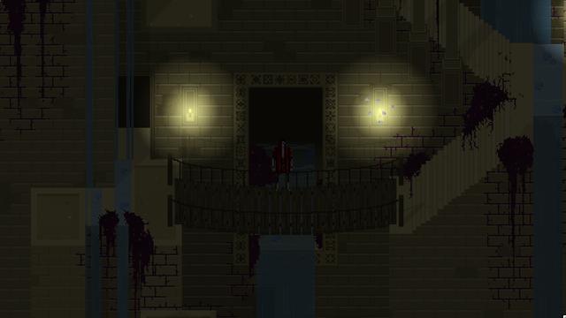 Escenario de Therefore: Los Jardines de Antaño de noche
