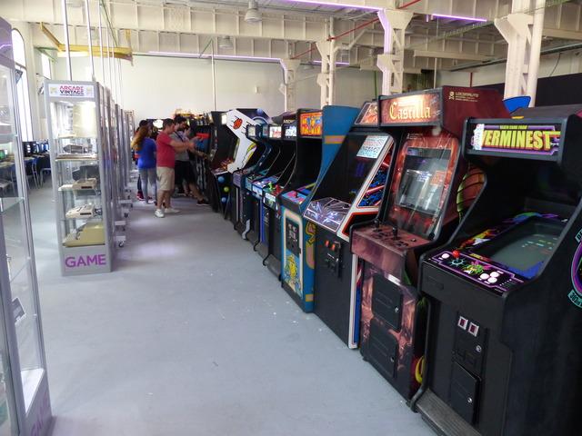 Museo Arcade Vintage - Máquinas arcade