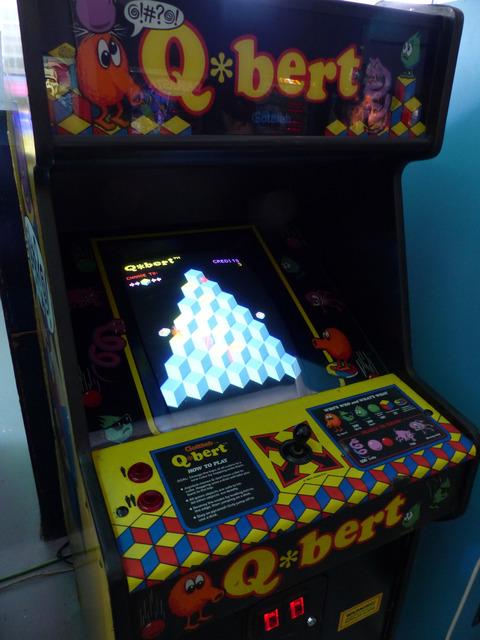 Museo Arcade Vintage - Qbert (Gottlieb, 1982)