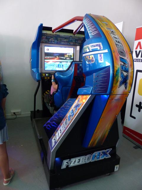 Museo Arcade Vintage - F-Zero AX (Sega, 2004)