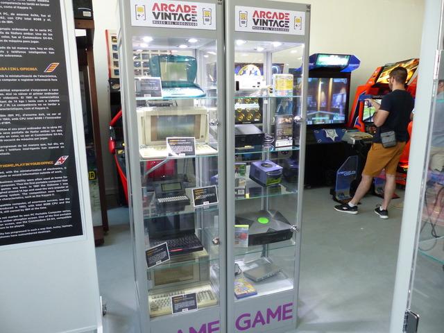 Museo Arcade Vintage - Consolas retro