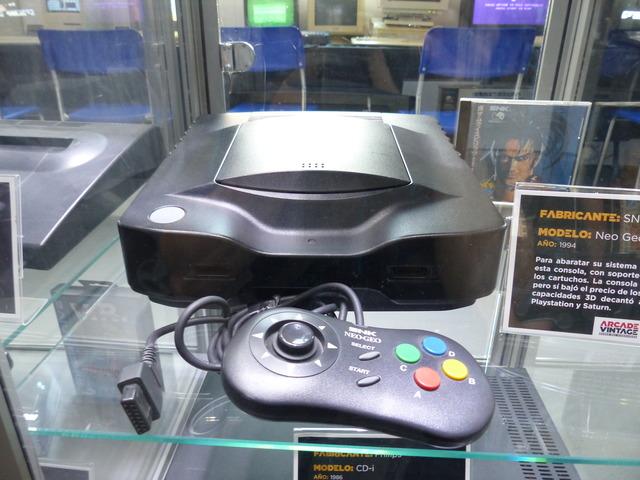 Museo Arcade Vintage - Neo Geo (1994)