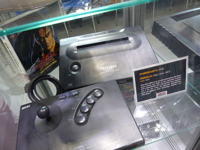 Museo Arcade Vintage - Neo Geo AES (1990)