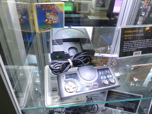 Museo Arcade Vintage - Nec CoreGrafx (1989)