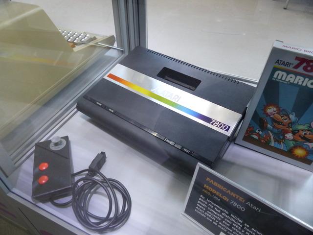 Museo Arcade Vintage - Atari 7800 (1984)