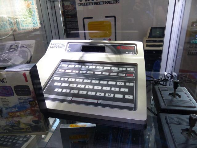 Museo Arcade Vintage - Philips Videopac G7000 / Odyssey 2 (1978)