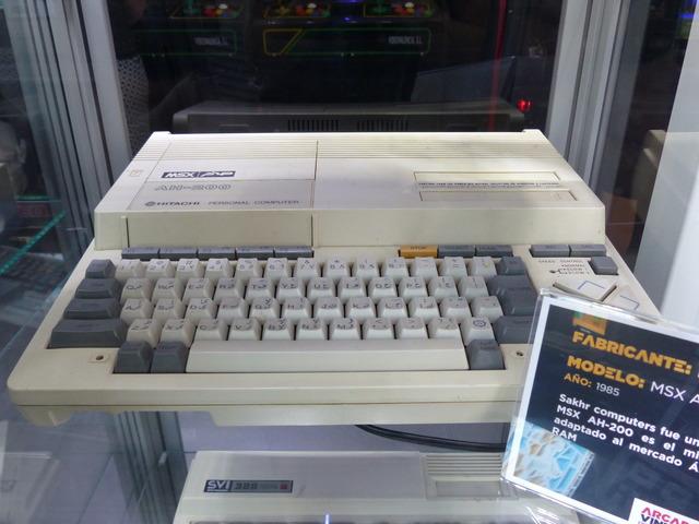 Museo Arcade Vintage - MSX AH-200