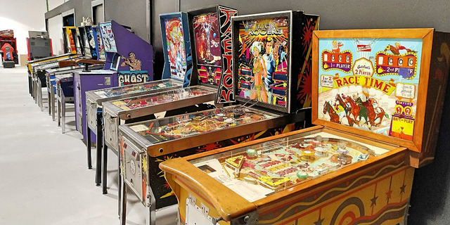 Museo Arcade Vintage - Pinballs